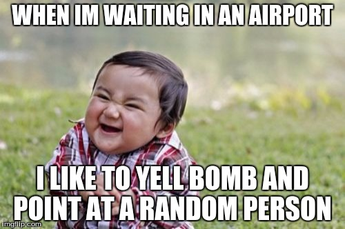 bomb in airport